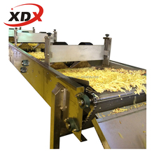 frying machine for fries production/frozen french fries mahine