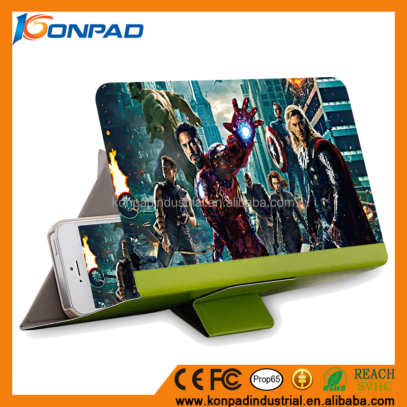 Mobile Phone Screen Magnifier 3D HD Movie Video Amplifier case for ipad mini