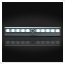 Wireless Motion Sensor LED Light 10 LED Closet Cabinet Light battery operated