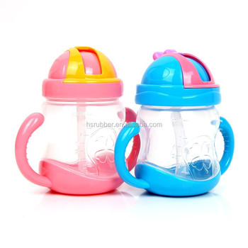 Energy baby training drinking cup with handle duckbill cups for kids unique design