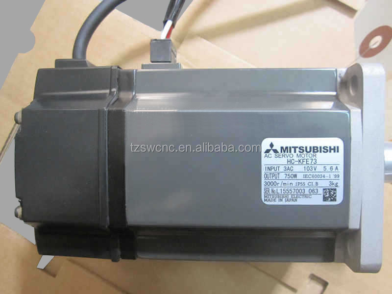 HC-KFE73 CNC Machine Part Mitsubishi servo motor