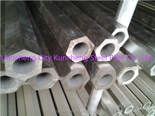304 316 316L Hexagonal Stainless Special shapes seamless steel tubes