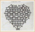Jigsaw puzzle die cutter heart 80pcs Unique design