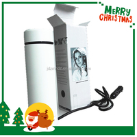 Christmas gift 12v car electric kettle usb electric auto heated cups and mugs car electronics factory price CE ROHS approved