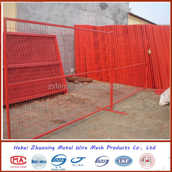Hot Sale Welded Wire Mesh Fence Panel In 12 Gauge Portable Fence Hot Sale Temporary Fence Canada