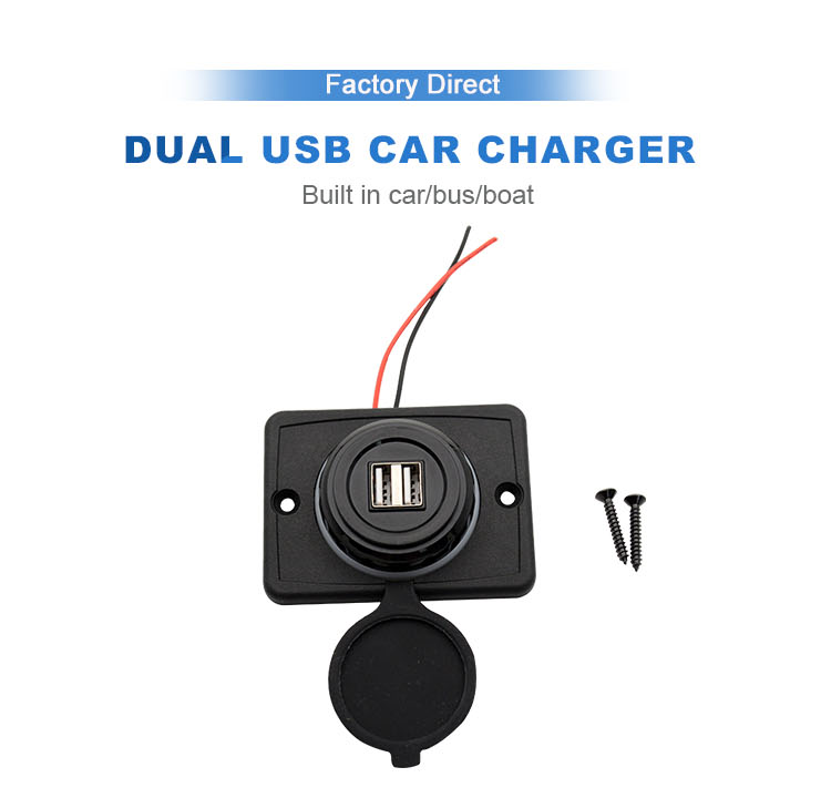 hot style usb in car charger for electronic device