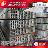 40*40mm galvanized steel square tube frame structure