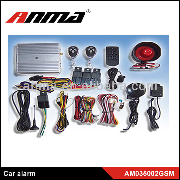 Hot sales best quality for two way in wells one way 2 way car alarm system