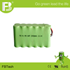 industrial ni-mh aa 2000mah 14.4v rechargeable battery pack