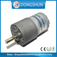 OEM High Torque and Low speed DS-37RS3530 37mm 12v dc motor 1000rpm
