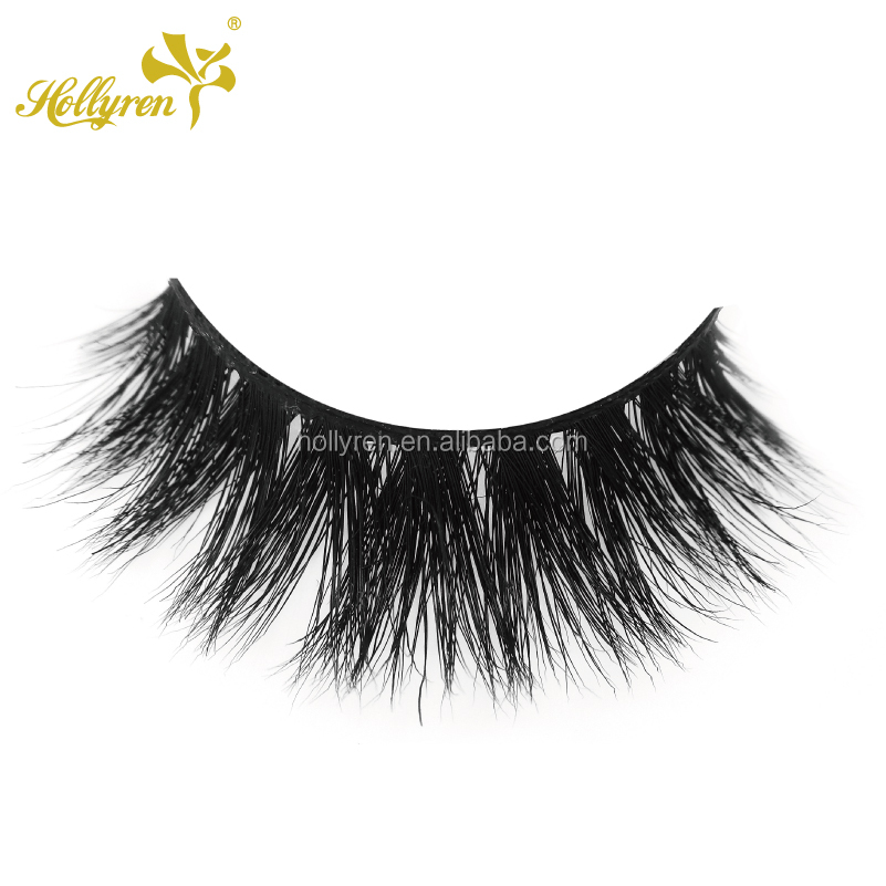 AAAA Lovely Luxury Soft 3D Real Mink Fur Strip Eyelash