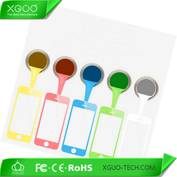 tempered glass mirror color glass for iphone 5