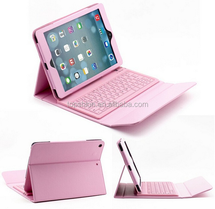 Universal Bluetooth Keyboard Cover Flip Leather Case For iPad Air 1/2, Alibaba Express