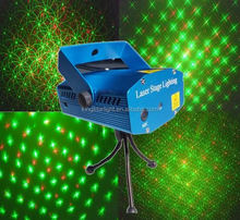 2015 Smart Stage RGB Twinlker Mini Laser Light Show 12V projector with Aluminum Case for Christmas Party Favor KTV Disco Stage