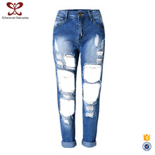 A Forever Fairness Wholesale Fashion Hole New Model Ripped Jeans