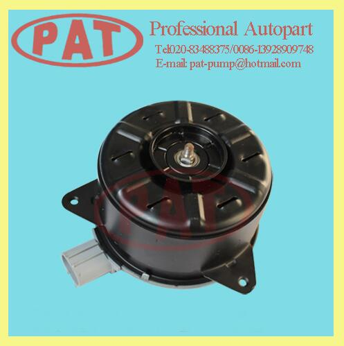PAT Car Spare Parts radiator cooling fan motor 16363-0T040 for Toyota YARIS 08'-10' ZSP91 VIOS 08'-10' NCP90