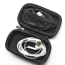 Custom Personalized EVA Leather Earphone carrying Case