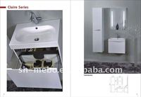 bathroom cabinet/MDF bathroom furniture/melamine bathroom cabinet
