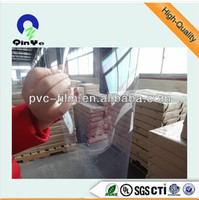 4*8 micron thin transparent plastic pvc sheet roll /pvc rigid sheet