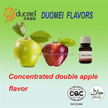 Concentrated liquid double apple flavor, concentrated liquid food flavouring