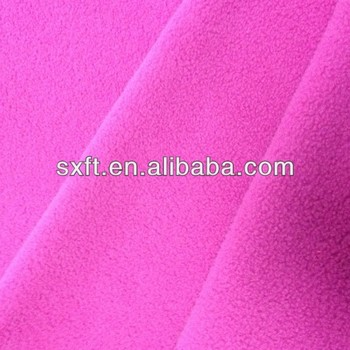 100% polyester knit polyester polar fleece fabric