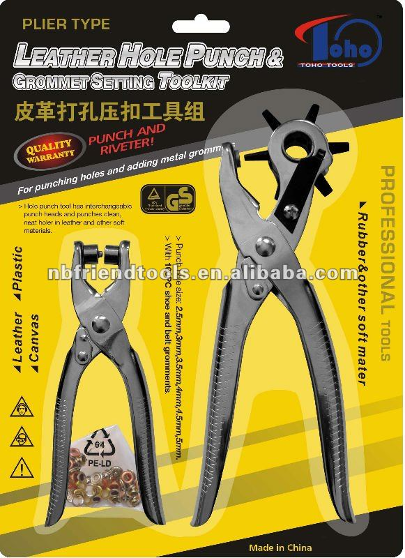 2pcs punch plier & eyelet plier set TH-LHP04