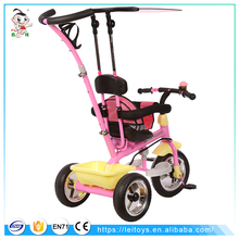 Cheap china toys BAIWA toys car kids safety baby tricycle bike for push