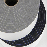 PVC foam tape with adhesive on one side.