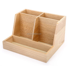Creative drawer wooden jewelry boxes diy cosmetics desktop finishing store content box thickening E1 green