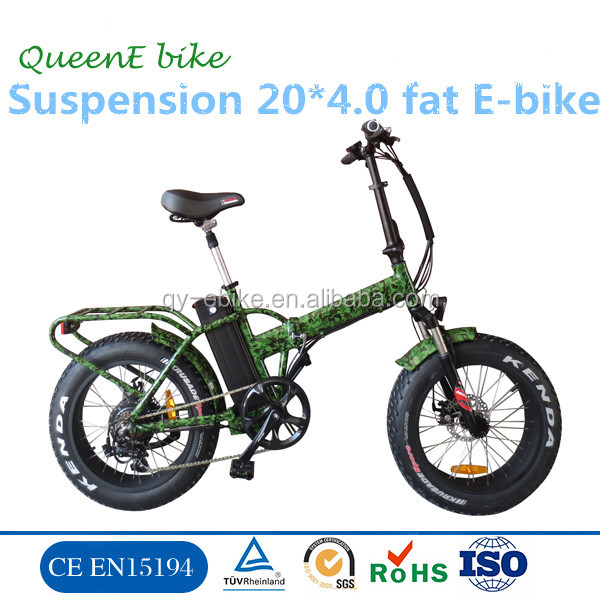 mountain MTB pedelec 20'' alloy fat mountine electric bicycle fold up