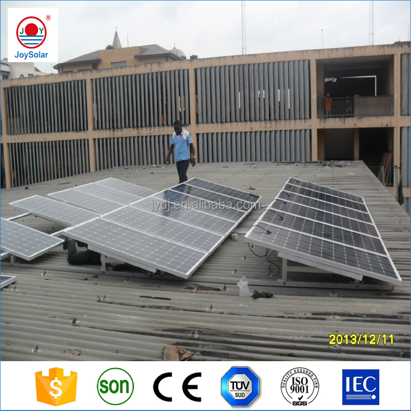 5KW solar panel kit 6KW 7KW 8KW roof mounted solar pannel system/solar panel kit 3kw