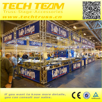 China exhibition booth truss event booth truss design