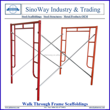 Hot Sale Type of Walk Through Frames for Frame Scaffolding System