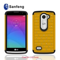 waterproof fancy cell phone case for lg leon c40