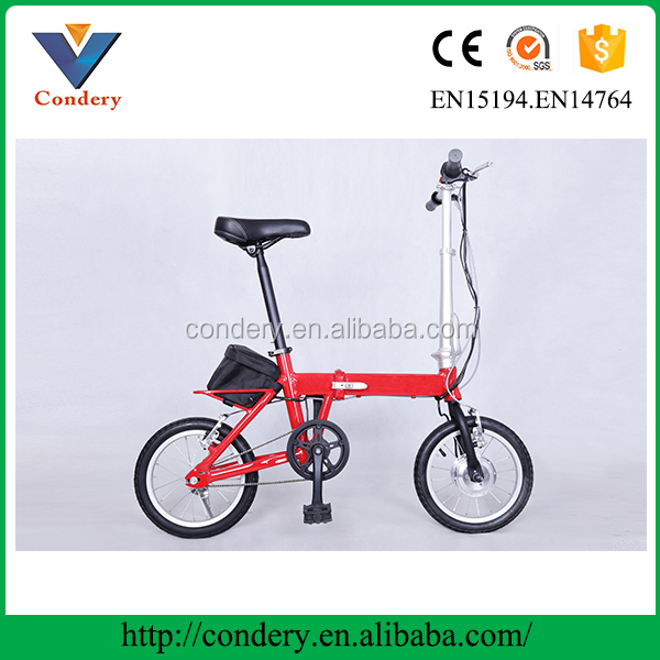 8 FUN brushless hub motor China made suspension electric bike bicycle