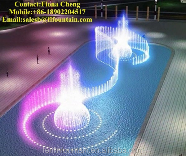 garden and pool decorative music dancing outdoor water fountain