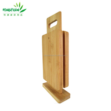 Custom kitchenwares cheap bamboo cutting board set