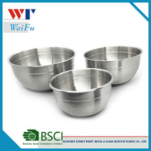 3Pcs Stainless Steel Mixing Bowls Set Salad Bowls Cookware Set