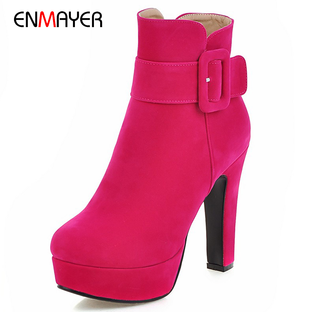 Korean fashion pu upper 12.5cm stiletto high heel lady rubber boots with thick platform