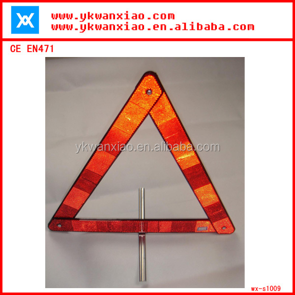 accident warn triangle,warn triangle traffic equipment,durable warn triangle