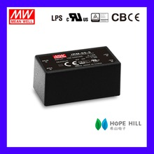 Original MEAN WELL IRM-05-12 5W 12V single output Miniature Encapsulated type Green open frame switching power supply