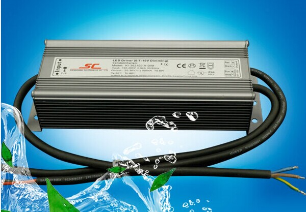 80W 0-10V power supply for led 1050ma IP 66