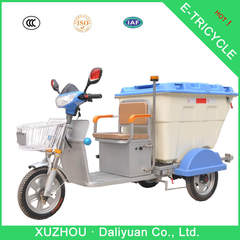 Daliyuan electric garbage adult tricycle motor tricycle triciclo motocar motocarro mototaxi