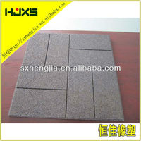 Outdoor use!!! Strong rubber paver bricks for sale