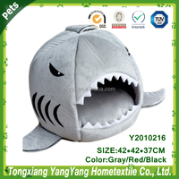 YANGYANG Pet Products Shark Pet Bed Shark Puppy Bed Shark Cat Bed