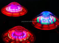 Factory price Luminous flashing magic UFO spinning top gyro