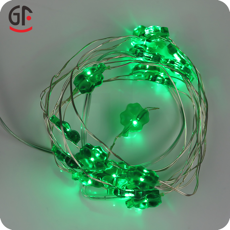 String Lights With Covers : 2016 Christmas Light Festival Products Decorative Covers For Clover Copper String Lights - Buy ...