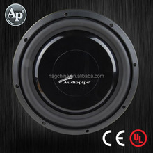 Audiopipe neo motor shallow mount Speaker Subwoofer, neo magnet spl car audio