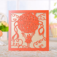 New Style handmade flower greeting cards with custom print