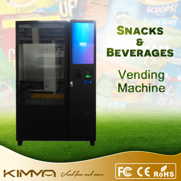 Multi functional candy / chocolate vending machine with credit card